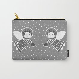 Angels on the gray Carry-All Pouch