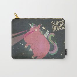 Super Horse... Unicorn Dreams. Carry-All Pouch