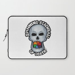 Spinning Beachball of Death Laptop Sleeve