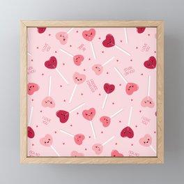 Valentine Sweetheart Framed Mini Art Print