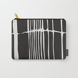 Black lines art, Lines print, Modern poster, Abstract art, Mid century modern, Minimalist print, Bla Carry-All Pouch