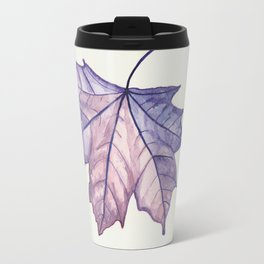 Fall Leaf Travel Mug