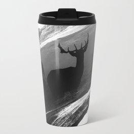 Oh Deer Black Travel Mug