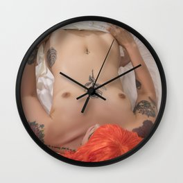 Leeloo Exposed Wall Clock