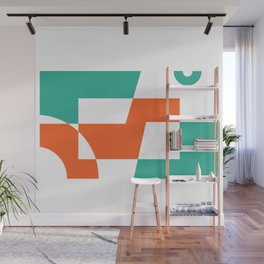 Inverse Vibes Wall Mural
