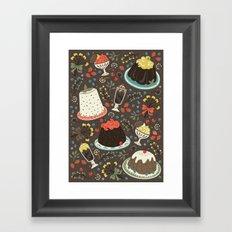 Sweet Deserts  Framed Art Print