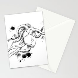Octoheart Stationery Cards