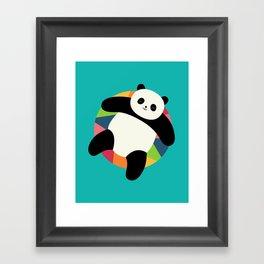 Chillin Framed Art Print