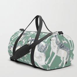 Totem Alberta Wolf Duffle Bag