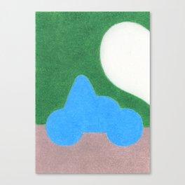Half a Heart Canvas Print