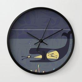 The Fishtank Wall Clock