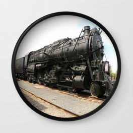 Steam Locomotive Number 5021 Sacramento Wall Clock