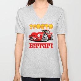 Ferrari GTO250 caricature Unisex V-Neck