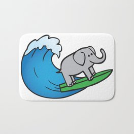 Of Trunks and Tides Bath Mat