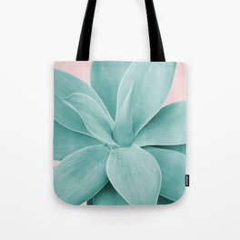 Blush Agave Romance #1 #tropical #decor #art #society6 Tote Bag