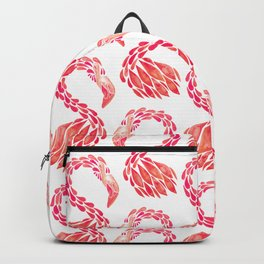 Miami Flamingo – Pink Ombré Backpack
