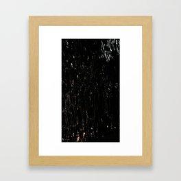 metallic texture 2 Framed Art Print