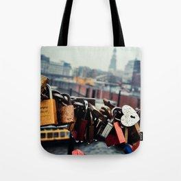 Love Locked Tote Bag