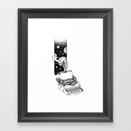 Beyond Your Imagination Framed Art Print