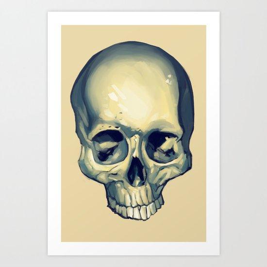 Bone Dude Art Print