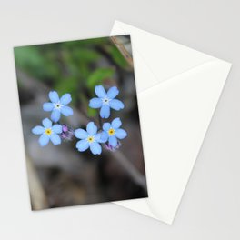 Five Forget-Me-Nots Stationery Cards