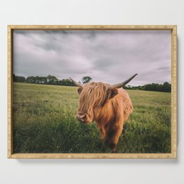 Epic Highland Cow Serving Tray