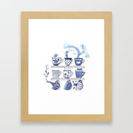 The Story of Tea Framed Art Print