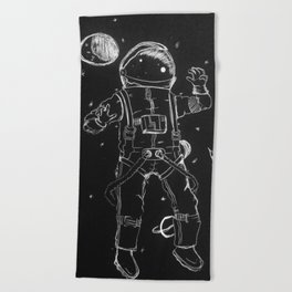 Exploration: Outer Space Beach Towel