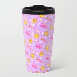 Usagi's Items Pattern / Sailor Moon  Travel Mug