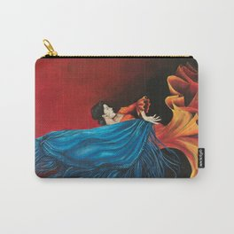 Spanish Flamenco Dancer Carry-All Pouch