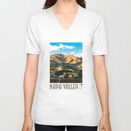 Napa Valley - Regusci Vineyards Unisex V-Neck