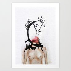 bleed out Art Print