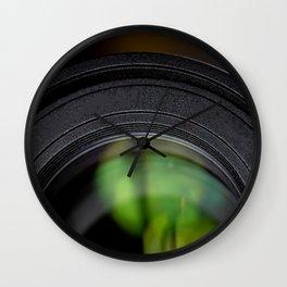 Photography Lens Macro Detail Wall Clock