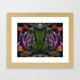 "'Micro-spacial Bows"" Framed Art Print"