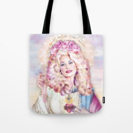 Saint Dolly Parton Tote Bag