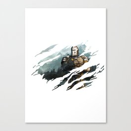 Warden- For Honor Canvas Print
