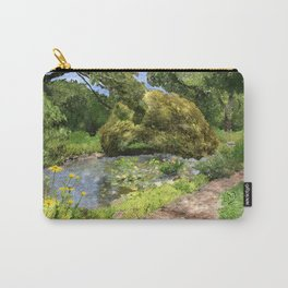 Pearl S Buck Front Garden Carry-All Pouch