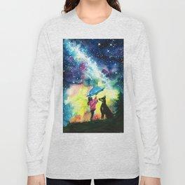 Raining stars Long Sleeve T-shirt