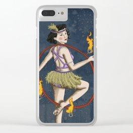 Miss Eris Clear iPhone Case