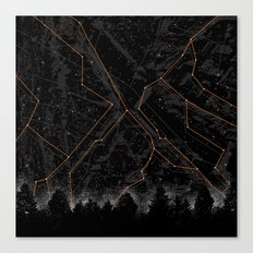 Slopes Canvas Print