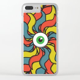 EYE TRIP Clear iPhone Case