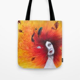 Autumn/Fall Watercolour Tote Bag