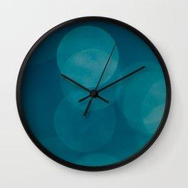 Petrol Blue Wall Clock
