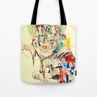 punk Tote Bags featuring Punk by withapencilinhand