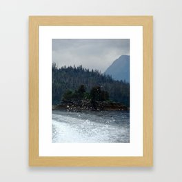 Spray Framed Art Print