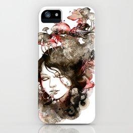 Metamorphosis of a fading memory iPhone Case
