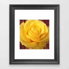 #Forever32 rose  Framed Art Print