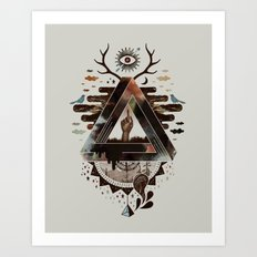 All Impossible Eye Art Print