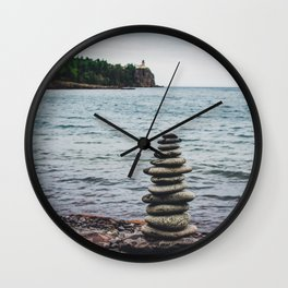 All Stacked Wall Clock