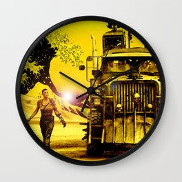 Furiosa - Mad Max Fury Road Wall Clock